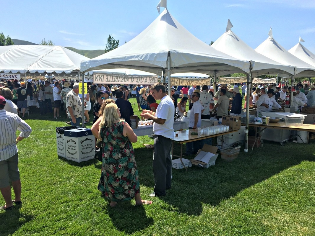 The Festival Grand Tasting held in River View Park in Buellton featured a collection of white tents arranged by Santa Barbara Countyu0027s inidual wine ... & New and Exciting Wines from the 2017 Santa Barbara Vintners Spring ...